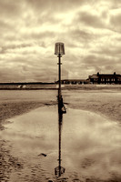 Redcar Beach Reflections