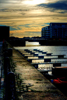 Pontoons On Salthouse Dock