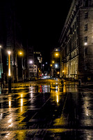 Wet Streets In Liverpool