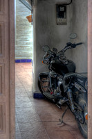 Bike In The Doorway