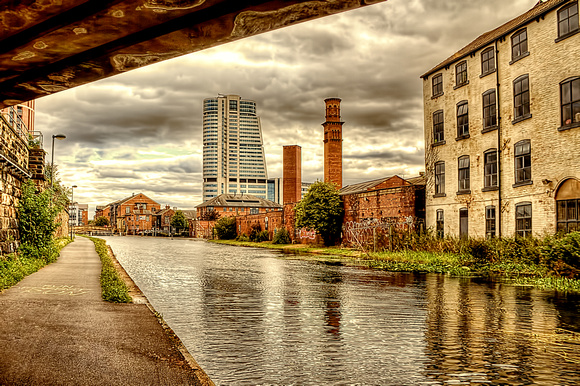 On The Canal In Leeds
