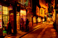 Night Time Shopping In The Shambles